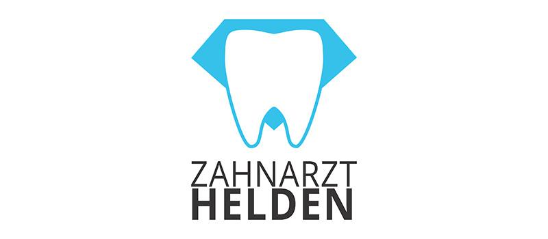 Zahnarzt Helden Logo