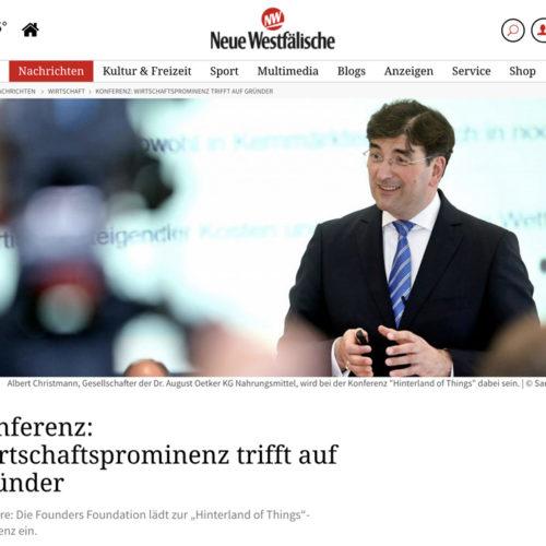 Hinterland Press Neue Westfälische